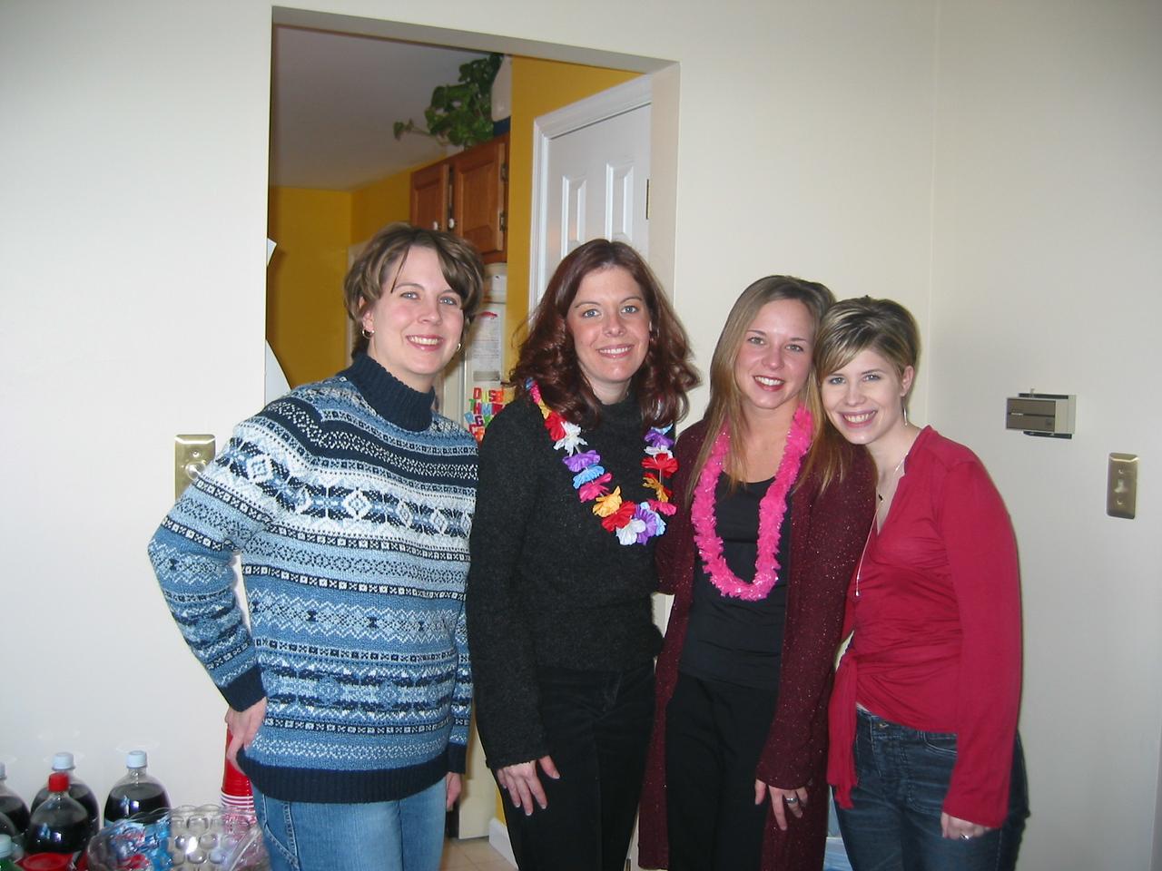 Amy, Cara, Erica and Rebecca