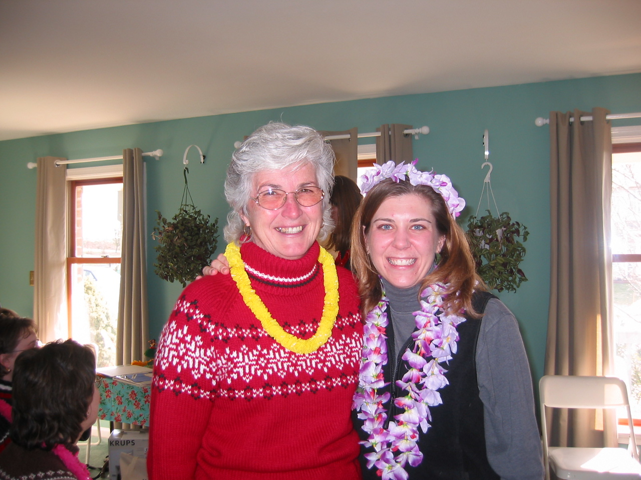 Ilsa and Grandma Pat