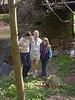 5/03/2003 - Lydia with Aunts Beatrix & Chara at Evansburg SP - 12 yrs.