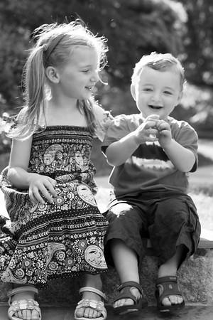 Hannah and Maxie, July