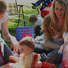 Oooh, now were talking!  Peyton has a blast opening her presents.  Peyton says thanks everyone.