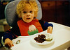 Seth in high chair, one yr. old?