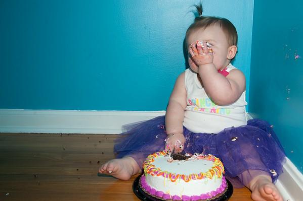 One Year Cake Smash-39