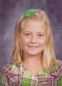 Chloe and Emmy School 2011