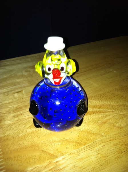 "Clown #3<br /> ""Roly-Poly Blue bodied Clown"""