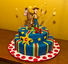 Woody & Bullseye 21st cake made by Alison Lundgren