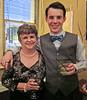 Christopher with his mum Elizabeth