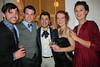 Christopher with Melbourne Uni theatre friends
