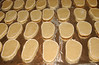 The beach sandal cookies for wedding favors