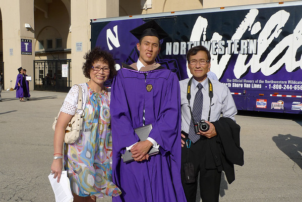 Chris' Graduation from Northwestern (Kellogg)