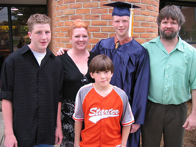 Chris' HS Graduation and Hunter!
