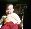 Baby Chris in Rocking Chair