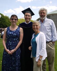 Son Chris' Ph.D. 2009