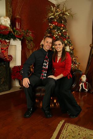 Chris & Lindsay Christmas 09