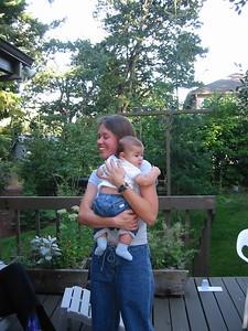 Tonya holds her nephew