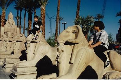 Luxor Hotel in Las Vegas 1993.