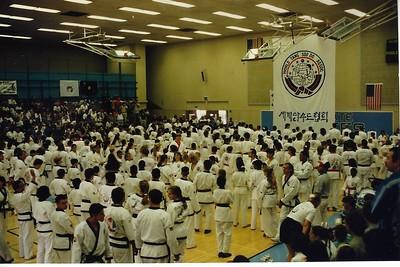 Regional Karate Tournament at Cal Stat SB in May 1996,