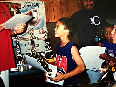MVP for YMCA Biddy Basketball.