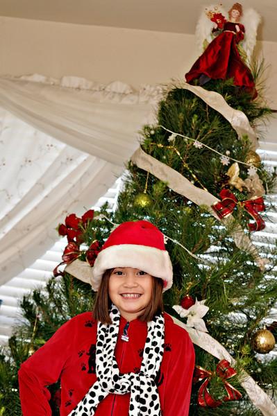 Chrissy, Paul & Ava Christmas Photos