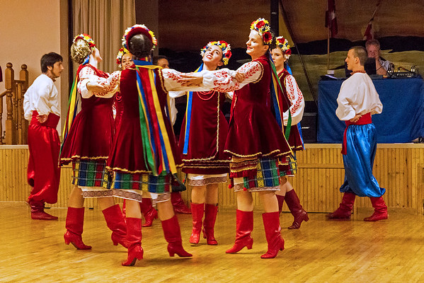 Ensemble Group of Windsor's Barvinok Ukrainian Dancers