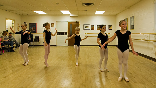 Video - Christina's ballet class