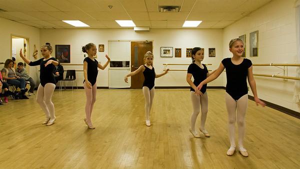 Video - Christina's ballet class