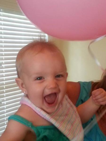 static electricity! ann maries birthday 8-3-13