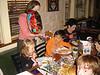 Dillon's Birthday celebration with Nana, Grandma, Shana, Tayor and Alyssa at Chili's