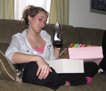 "Kelsey designed this Cira Joan & David shoe and named it after her sister....the ""Lacey Jae"". She gave Lacey a pair."