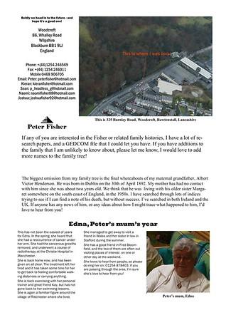 Christmas 1999 Fisher Family Newsletter