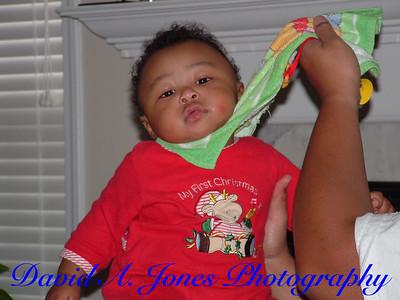 Christmas 2004 with the Jones'