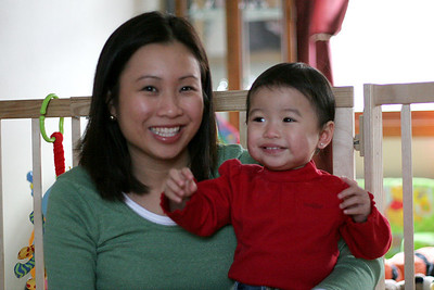 Auntie Lynne & Alyssa.