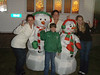 Photos with the inflatables at G&G Stephens