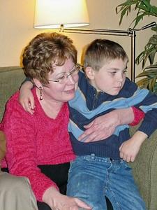 Linda and Evan