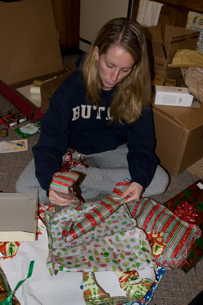 Opening more presents