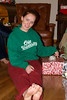 Whitney with gifts