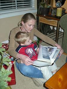 Ari reading to Byron