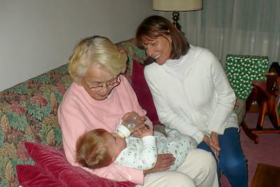 Mom & DD admiring Joey