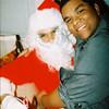 Jeremy with Santa