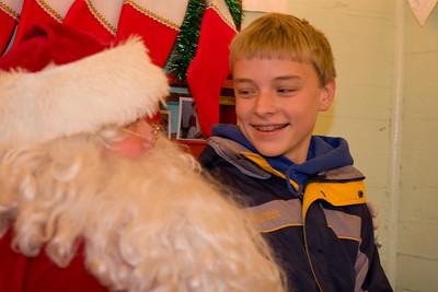 Santa and Nathan