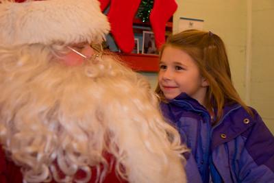 Santa and Madison