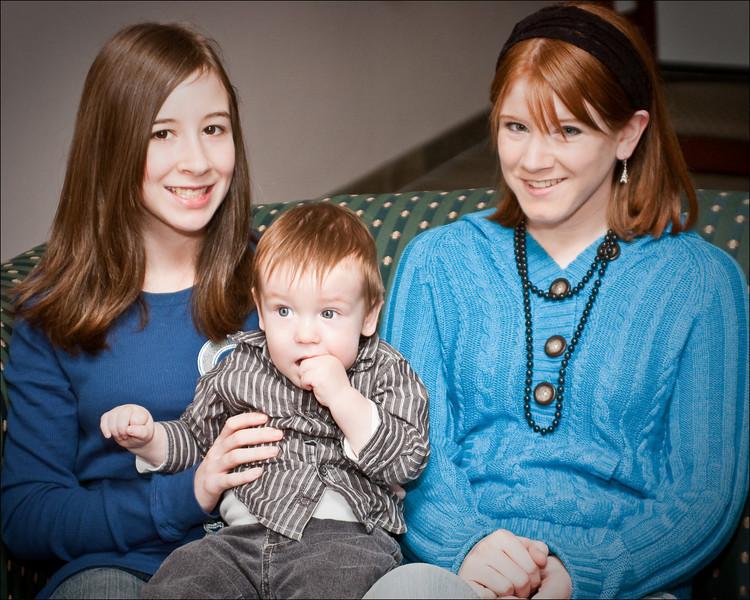 Cousins: Emily, Vincent & Tali