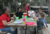 Peg, Aaron, Tom, Kimmy, Kagen<br /> Our Christmas picnic at Myakka State Park.