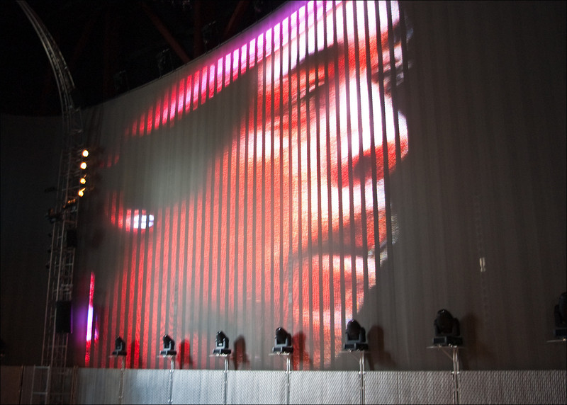 Jimi onscreen at The Sky Church