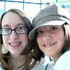 AnnaClaire and Grace at Nephrology party at Children's Hospital.