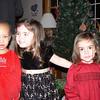 Cousins on Christmas eve.
