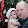 Jeff and Mason<br /> Christmas 2009