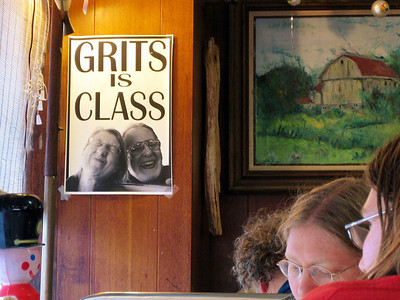 Grits is class.