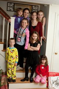 The great-grandchildren.
