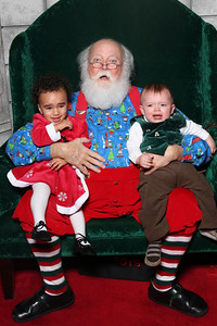 Help!!!!! Esther is not liking Santa a second time around.